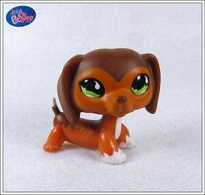 Littlest-Pet-Shop-675-caramel-brown-DACHSHUND-RARE
