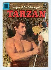Tarzan-90-March-1957-G-VG-Photo-cover
