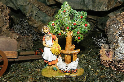 Euromarchi Nativity Figurine Presepio Pesebre Manger Scene Village Figurine