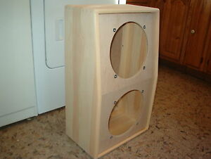 trm 12 deep vertical 212 2x12 guitar extension speaker cabinet diy ebay. Black Bedroom Furniture Sets. Home Design Ideas