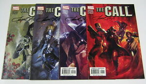 The Call #1,2,3,4 Full Set #1-4 All Signed by Pat Olliffe MARVEL COMICS 2003