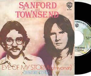 SANFORD-and-TOWNSEND-45-g-EYE-OF-MY-STORM-Made-in-ITALY-1977-stampa-ITALIANA