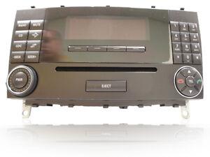 07 08 09 mercedes benz clk500 clk55 clk350 radio stereo cd for Mercedes benz cd player