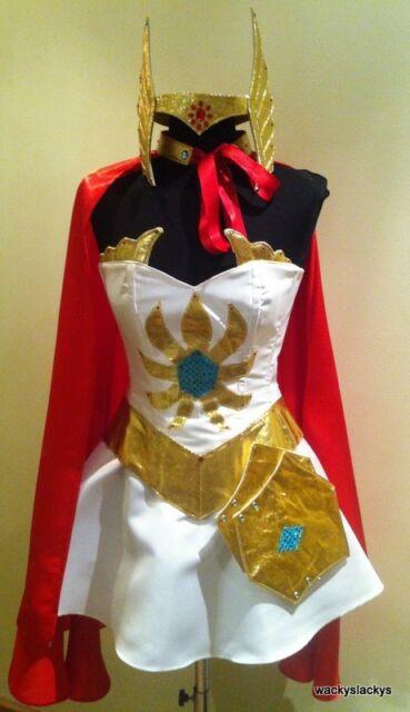 SHE-RA corset costume wonderwoman shera xena 23-36w