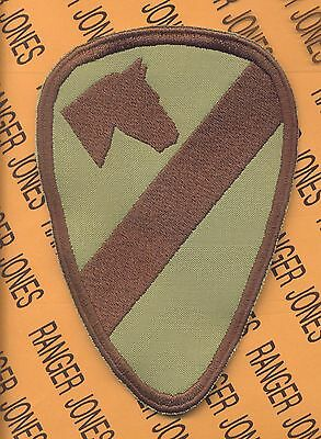 US Army 1st Cavalry Division Multi Cam COMBAT side SSI shoulder patch