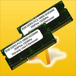 NEW-16GB-2-x-8GB-DDR3-1333MHz-204pin-Sodimm-PC3-10600-LAPTOP-Memory-16-GB-1333