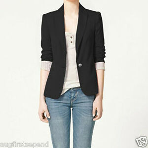 Western-Vogue-Candy-Women-Lapel-Casual-Suits-Blazer-Jacket-Outerwear-Coat-Lining