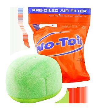no toil pre-oiled atv air filter yfz 450 04-2009