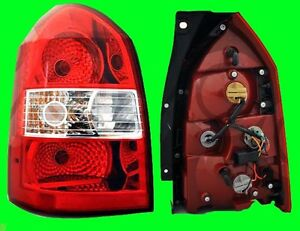 Rear Left Tail Light With Bulb Fits Hyundai Tucson 2005