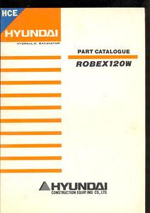 HYUNDAI-ROBEX-120W-HYDRAULIC-EXCAVATOR-PARTS-MANUAL