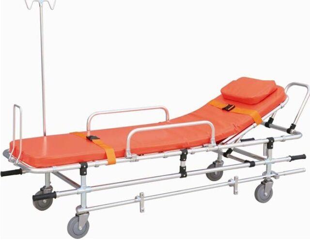 Medical Ambulance Stretcher Belt Aluminum Equipment Emergency FORZA FDA APPROVED