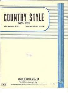 Country-Style-Square-Dance-Bing-Crosby-in-film-Welcome-Stranger-Sheet-Music