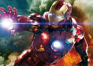 the-AVENGERS-movie-IRONMAN-A4-PRINTED-POSTER