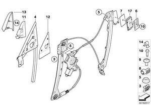 BMW-Window-Regulator-Slider-Clip-E36-E85-E86-E92-E93-3-Series-Z3-Z4-51321938884