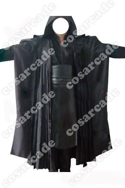 Star Wars Sith Dark Lord Darth Maul Tunic Robe Cloak Cosplay Costume Outfit Suit
