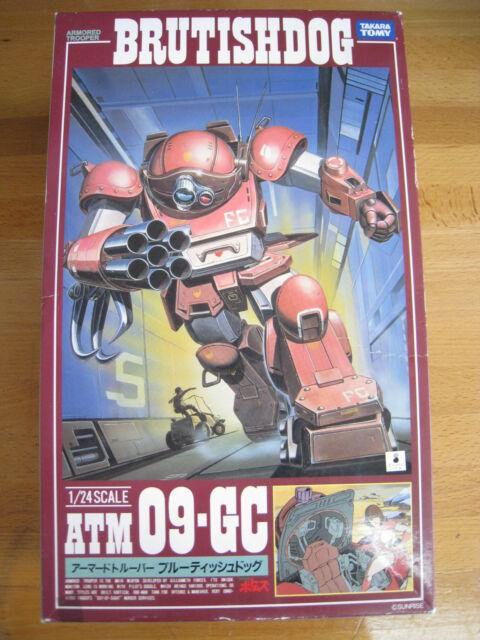 Anime Armored Trooper Votoms 1/24 Brutishdog & Fantam Lady Model Kit TAKARA