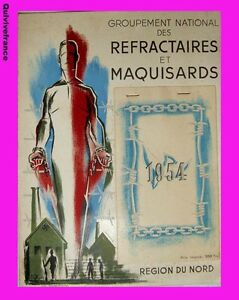 CALENDRIER-REFRACTAIRES-amp-MAQUISARDS-1945