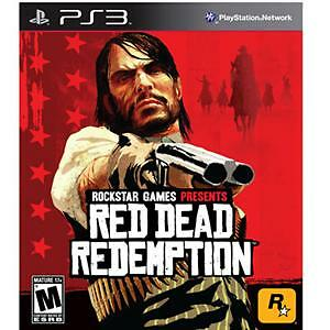 Red Dead Redemption (Sony PlayStation 3, 2010) COMPLETE FAST SHIP ROCKSTAR PS3