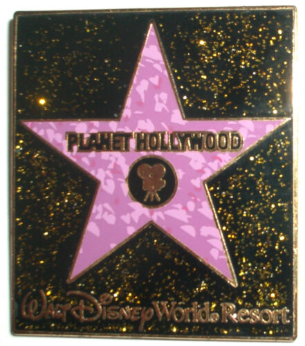 WDW Planet Hollywood: Hollywood Walk Of Fame Star Pin