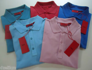 NWT-HUGO-Hugo-Boss-Red-Label-By-Hugo-Boss-Slim-Fit-Stretch-Cotton-Polo-Shirt
