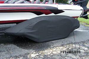 RANGER-BLK-Boat-trailer-fender-tire-storage-covers-exact-fit-tandem-fiberglass