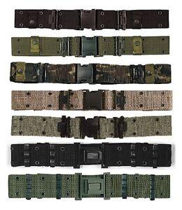 Military-Marine-Corps-Style-Nylon-Quick-Release-Pistol-Belt