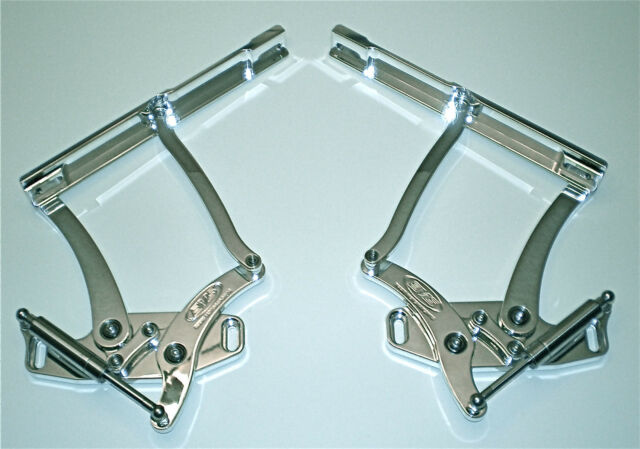 1967 1968 1969 CAMARO FIREBIRD BILLET HOOD HINGES POLISHED. MADE IN U.S.A.