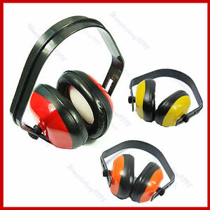Adjustable-Ear-Muff-Muffler-Noise-Hearing-Protector-New