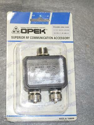 OPEK DU-500M ANTENNA DUPLEXER MALE PL-259 CONNECTORS LOW PRICE/FREE SHIPPING!!!!