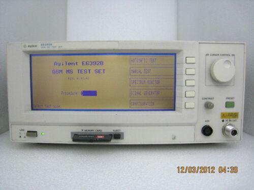 Agilent /HP E6392B GSM Mobile Station Test Set