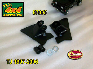 Mirror-Relocation-Brackets-Jeep-TJ-Wrangler-1997-2002-SOLD-IN-PAIRS-57005