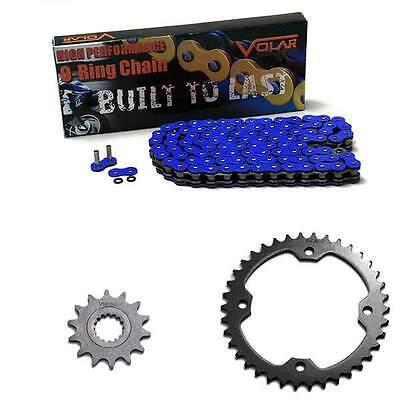 Blue O-Ring Chain and Sprocket Kit - 2007-2013 Yamaha YFM700 RSE Raptor Special