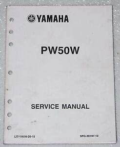 2007 yamaha pw50 y zinger 50 motorcycle service manual. Black Bedroom Furniture Sets. Home Design Ideas