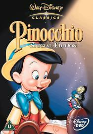 PINOCCHIO DVD Original Walt Disney SPECIAL EDITION PINNOCHIO New Sealed UK