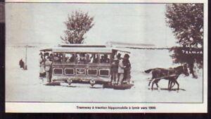 1973 -- TURQUIE IZMIR TRAMWAY TRACTION HIPPOMOBILE - France - K814 1973 -- TURQUIE IZMIR TRAMWAY TRACTION HIPPOMOBILE il ne s'agit pas d'une carte postale , mais d'un beau document paru dans la rare vie du rail en 1973 le document GARANTI D'EPOQUE est en tres bon état et présenté sur carton d'encadrement - France