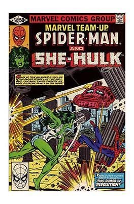Marvel Team-Up 107 1st Series 1981 NM Spider-Man She-Hulk