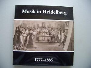 Musik in Heidelberg 1777-1885 Ausstellung 1985 - Eggenstein-Leopoldshafen, Deutschland - Vollständige Widerrufsbelehrung Widerrufsbelehrung Widerrufsrecht Als Verbraucher haben Sie das Recht, binnen einem Monat ohne Angabe von Gründen diesen Vertrag zu widerrufen. Die Widerrufsfrist beträgt ein Monat - Eggenstein-Leopoldshafen, Deutschland