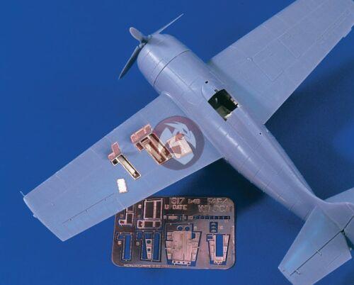 Verlinden 1/48 Grumman F4F-4 Wildcat Detail Set WWII (Tamiya) [Resin + PE] 1617