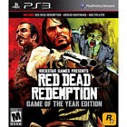 Red Dead Redemption -- Game of the Year Edition (Sony PlayStation 3, 2011)