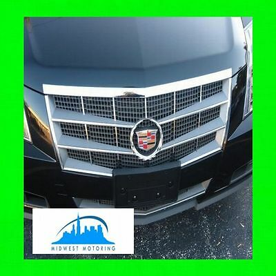 2008-2013 CADILLAC CTS CHROME TRIM FOR GRILLE GRILLE W/5YR WARRANTY 5PC
