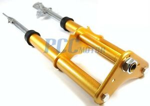 Fork Suspension Shock Assy Xr50 Crf50 Xr Crf Pit Dirt Bike Gold H