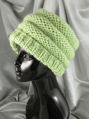 PRINTED KNITTING INSTRUCTIONS-SUPERFAST TIER BEANIE HAT KNITTING PATTERN