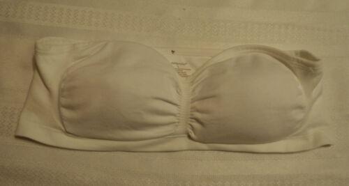 AMBRIELLE S M or L Strapless Tube Bra Choice Beige Black White NWT 00129-7