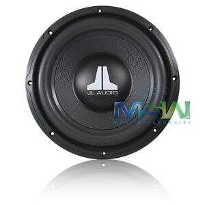 new jl audio 10wxv2 4 10 single 4 ohm wxv2 car sub. Black Bedroom Furniture Sets. Home Design Ideas