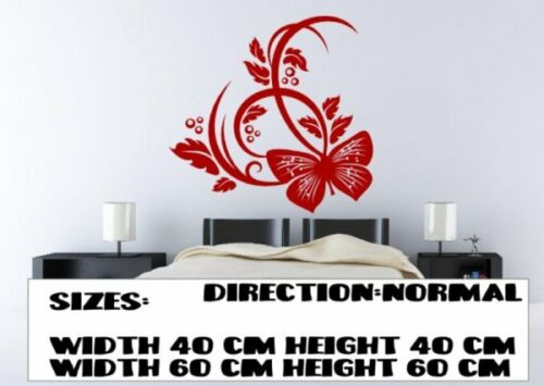 Rich majestic Butterfly Dream pattern decal amazing centre piece wall stickers