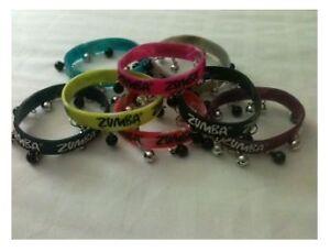 Newest-Zumba-Jingle-Bell-Bracelets-8-pack-2012-Zumba-Convention-Fast-Shipping
