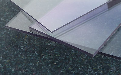 PC(Acrylglas Plexiglas*) Platte Zuschnitt klar 1000 x 600 x  Stärke frei wählbar