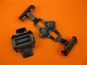 21mm-CARTIER-Black-PVD-316L-Stainless-Buckle-SANTOS-100-Deployment-Watch-Strap