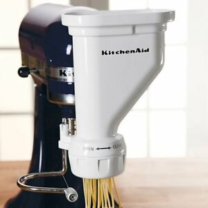 KitchenAid-KPEXTA-Stand-Mixer-Pasta-Extruder-Attachment-with-Accessories-NEW