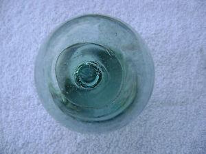 """(#210) 3.58"""" GLASS FLOAT BALL BUOY BOUY WP#130"""